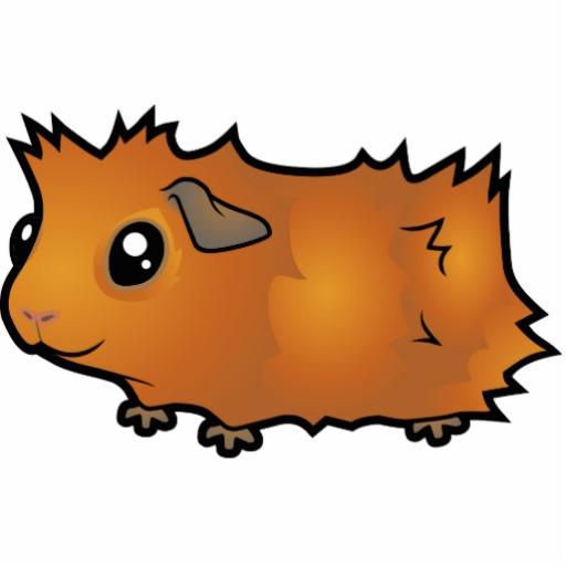 Cartoon Guinea Pig Clipart
