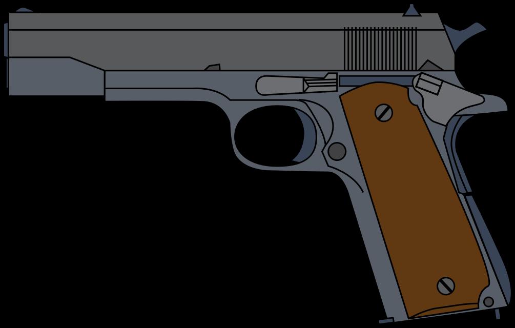 Cartoon gun clipart - ClipartFest