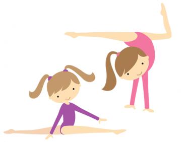 Cartoon gymnastics clip art danasrif top