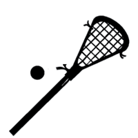 Cartoon lacrosse stick clipart