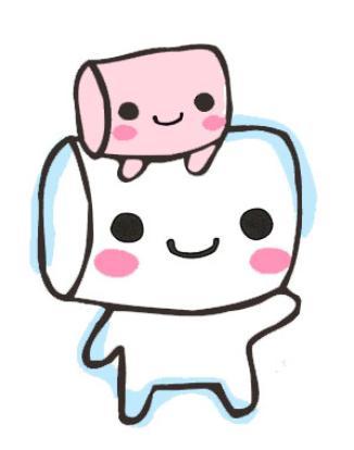 Cartoon Marshmallow Clipart-Cartoon Marshmallow Clipart-10