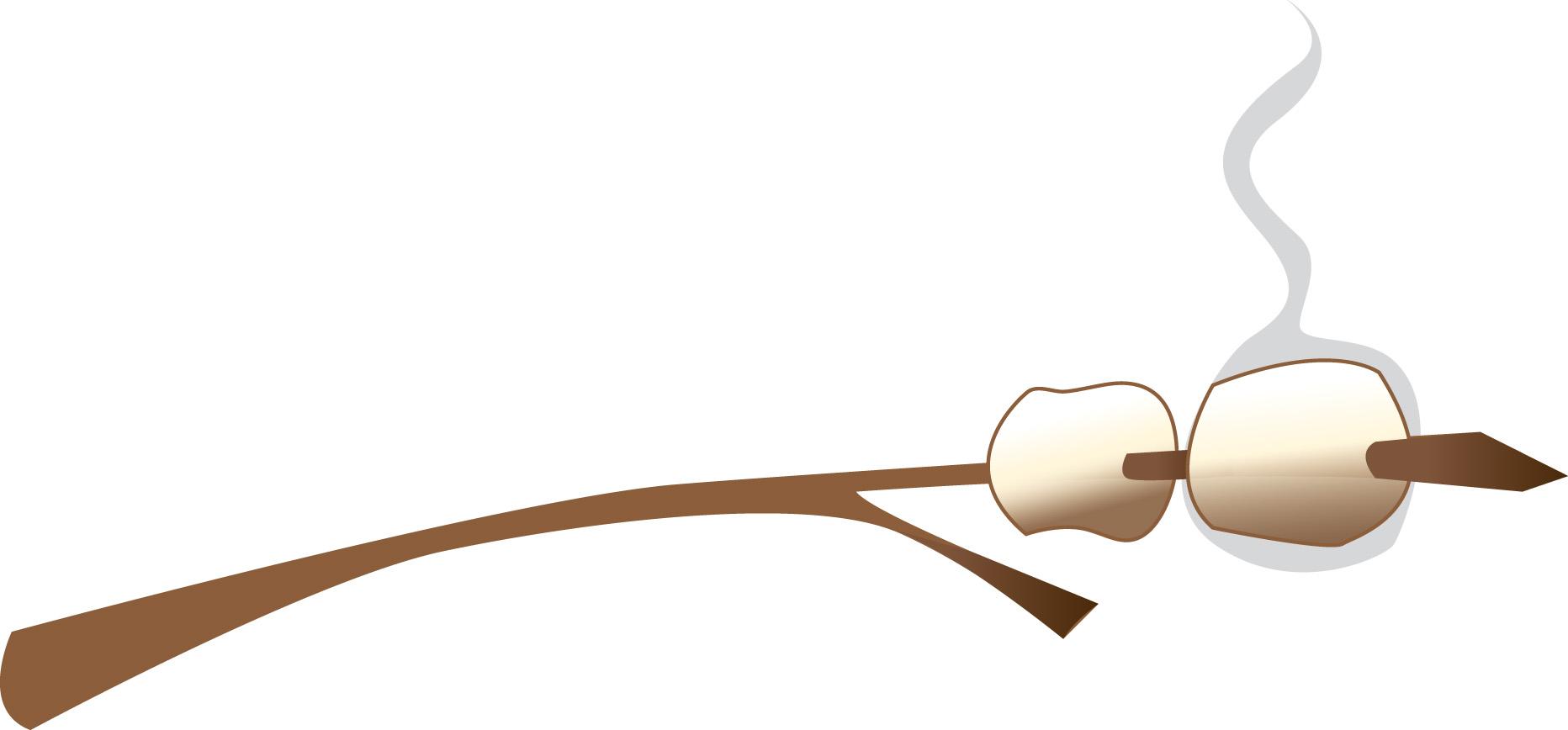 Cartoon Marshmallow Roasting Clipart Free Clip Art Images