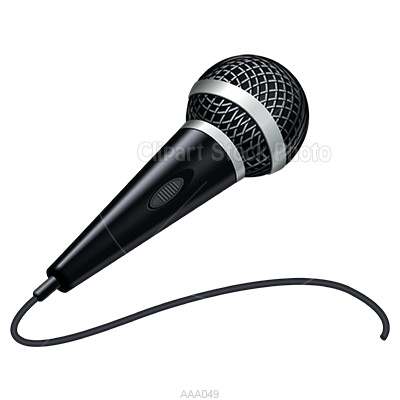 Cartoon microphone clipart clipart kid