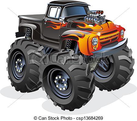 Monster Truck Clip Art