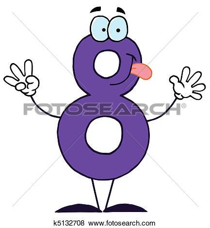 Cartoon Numbers-8-Cartoon Numbers-8-2