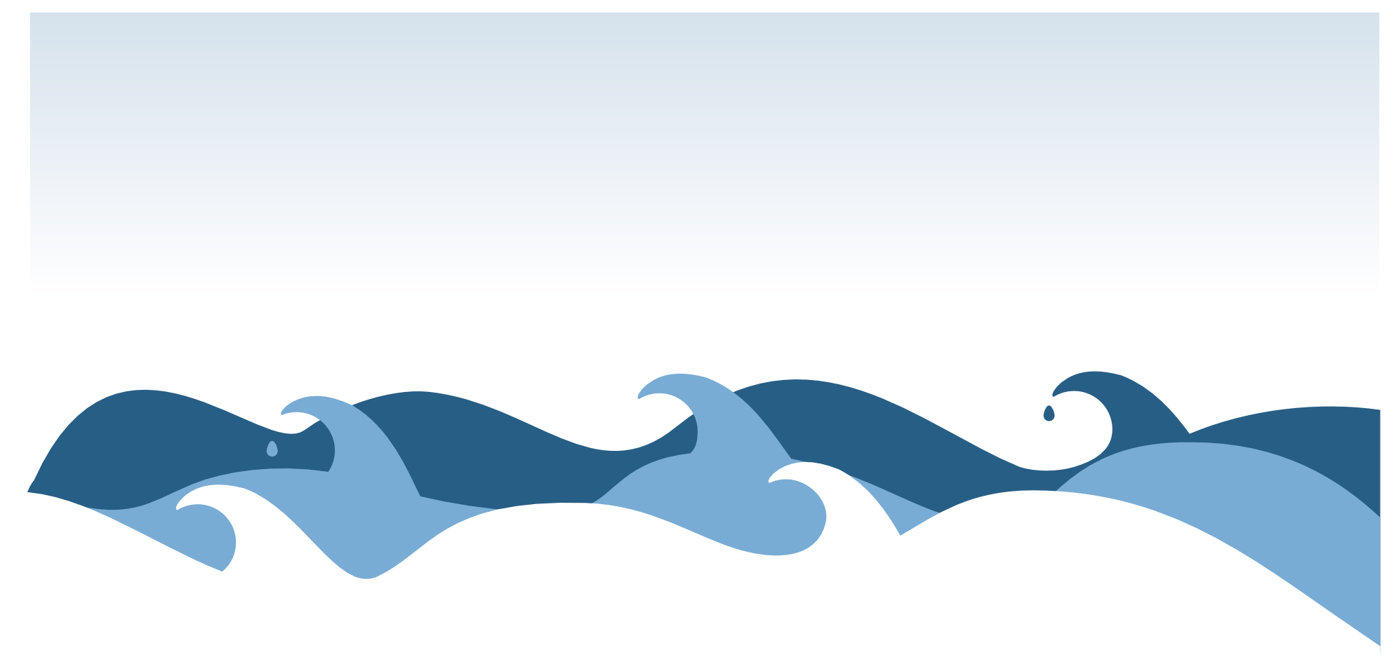 Cartoon ocean waves clipart clipartall wave clipart