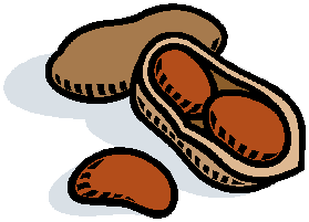 Cartoon Of An Open Peanut Shell Picture Courtesy Of Microsoft Clip