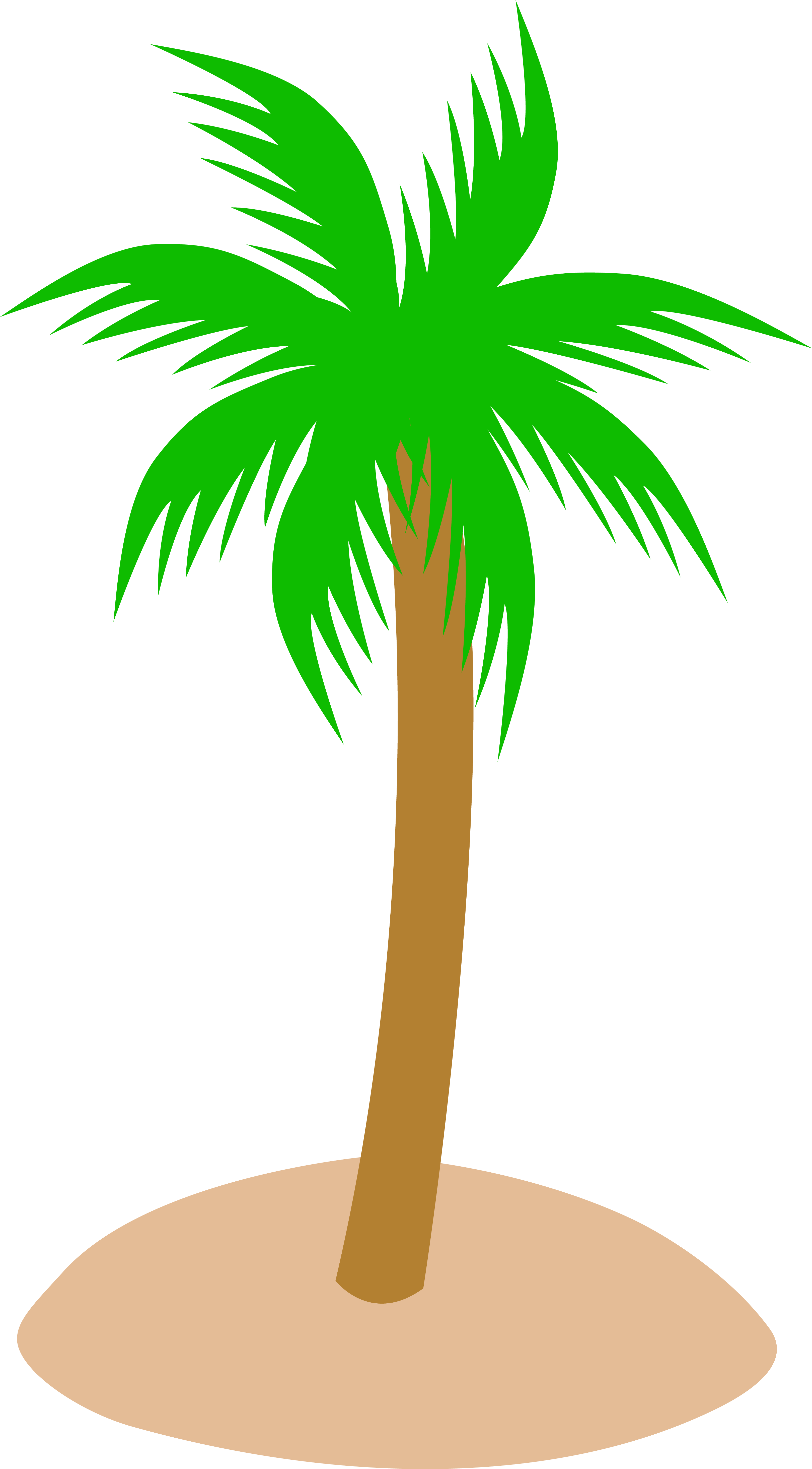 Cartoon Palmtree-Cartoon Palmtree-0