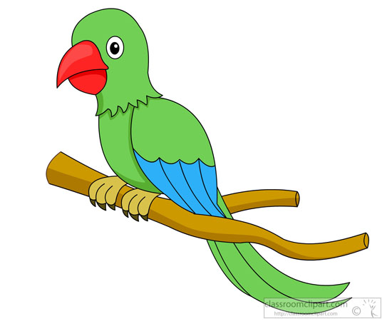 Cartoon Parrot Clip Art. Search Results-Cartoon Parrot Clip Art. Search Results-18