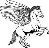 ... Cartoon Pegasus; Pegasus Drawing-... cartoon pegasus; pegasus drawing-0