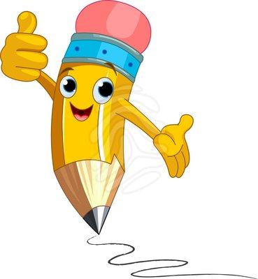 Cartoon pencils clipart - ClipartFest