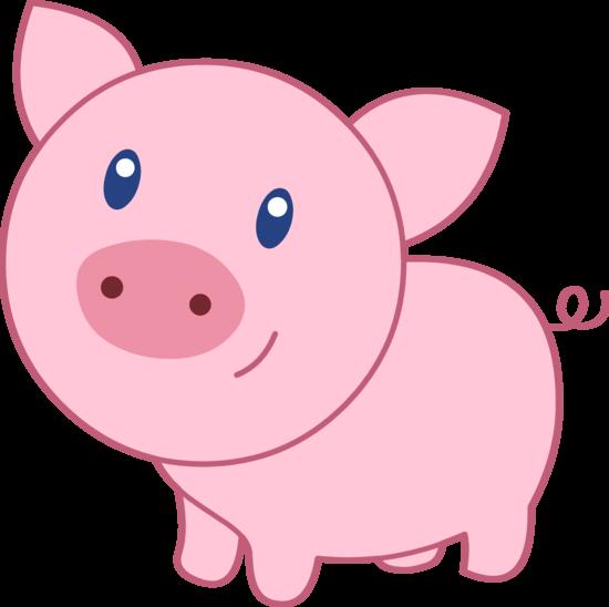 Cartoon Pig Clipart-Cartoon Pig Clipart-1