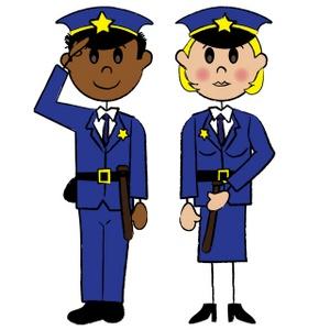 Cartoon Police Officer Clipart