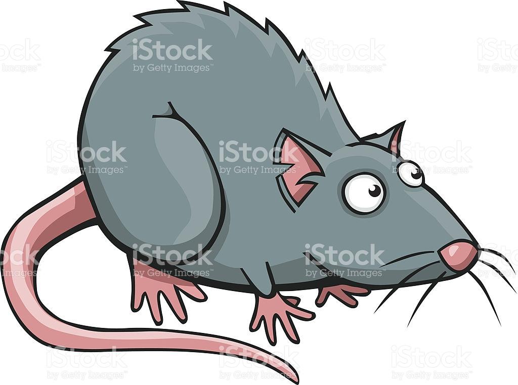 Cartoon Rat Vector Art Illustration-Cartoon Rat vector art illustration-2