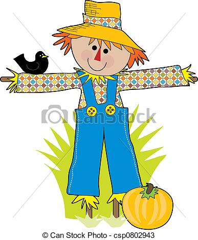 Cartoon scarecrow Stock Illustrationby c-Cartoon scarecrow Stock Illustrationby clairev6/1,705; Scare Crow - A funny scare crow in a field with a crow-17