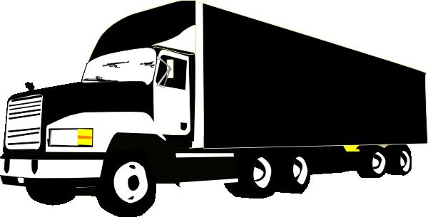Cartoon Semi Truck Clipart .-Cartoon Semi Truck Clipart .-1