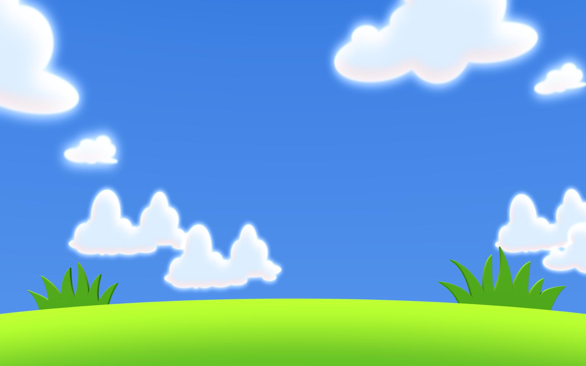 Cartoon Sky Background Clipart Best