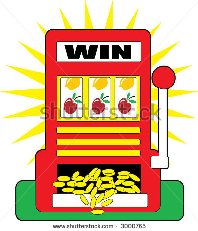 Cartoon Slot Machine Clipart # .