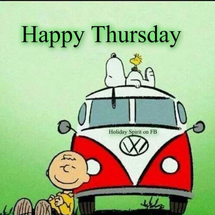 Cartoon SnoopyHappy Thursday Clipart. Greetings Happy Thursday Clipart