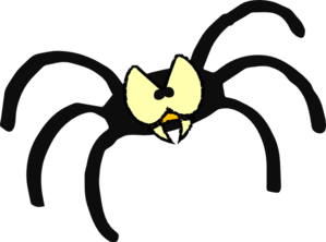 Cartoon spider clipart cliparts for you 2 clipartcow