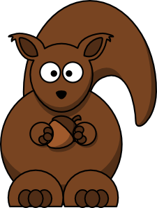 Cartoon Squirrel. »