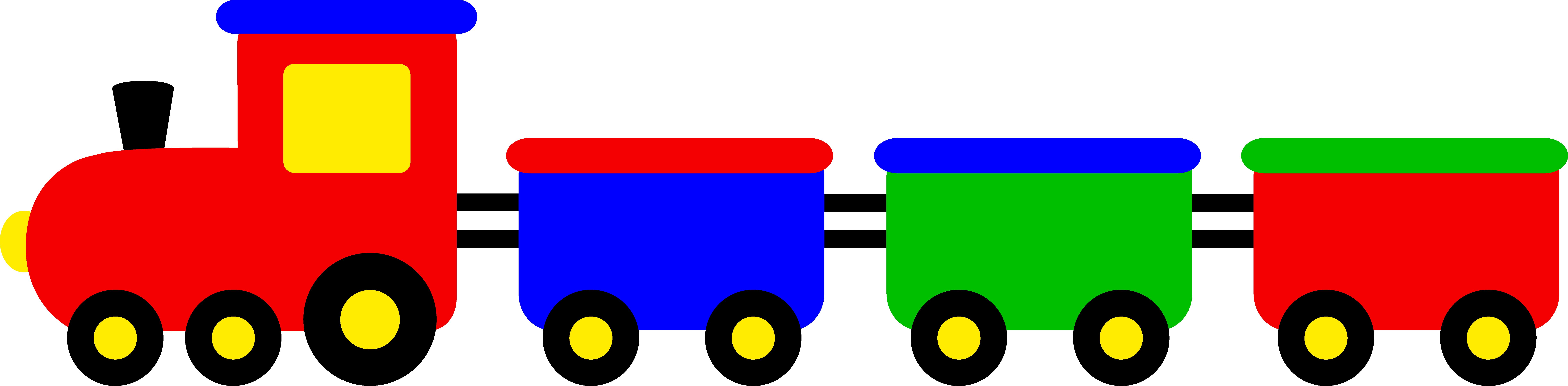 Cartoon Train Clipart