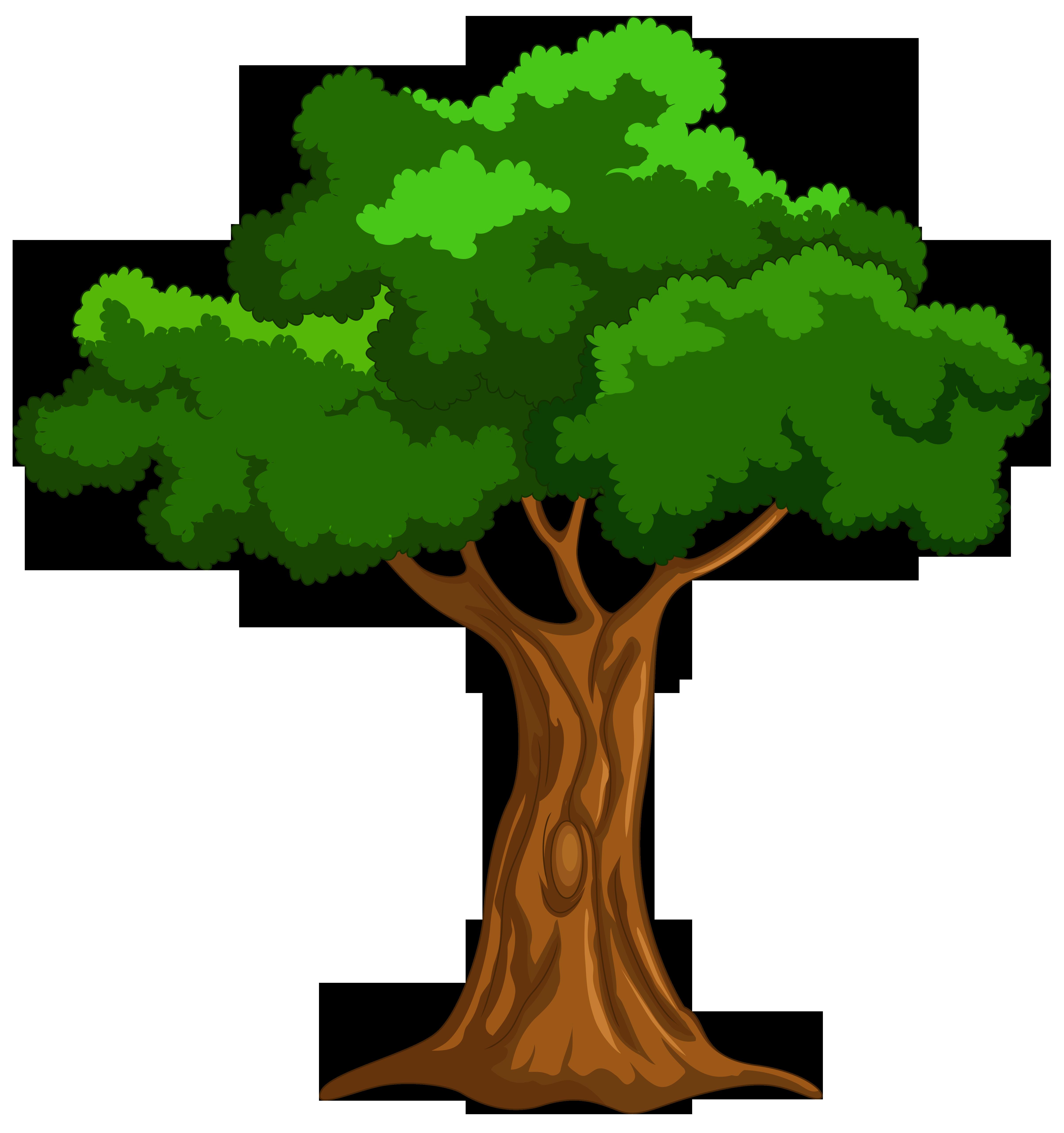 Cartoon tree clip art web .