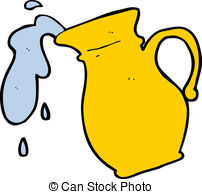 cartoon water jug .-cartoon water jug .-11