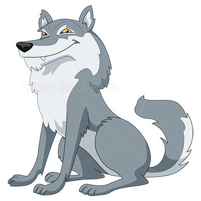 Cartoon Wolf Clipart #1-Cartoon Wolf Clipart #1-14