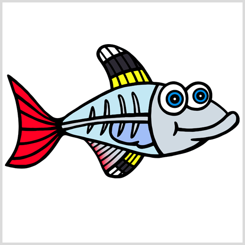 Cartoon X Ray Fish Free Cliparts That You Can Download To You