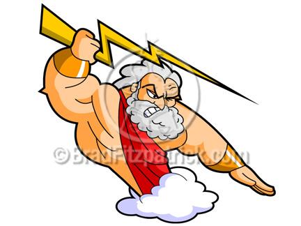 Cartoon Zeus Clipart Graphics Picture