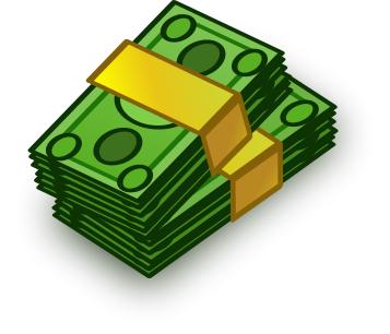 Cash Clip Art. Stack Of Bills-Cash Clip Art. Stack Of Bills-3