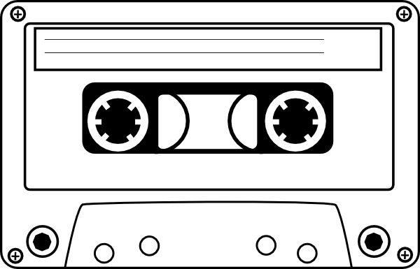 Cassette tape clipart   Cassette clip art - vector clip art online, royalty free u0026amp; public ...   karaoke   Pinterest   Clip art, Cassette tape and Public