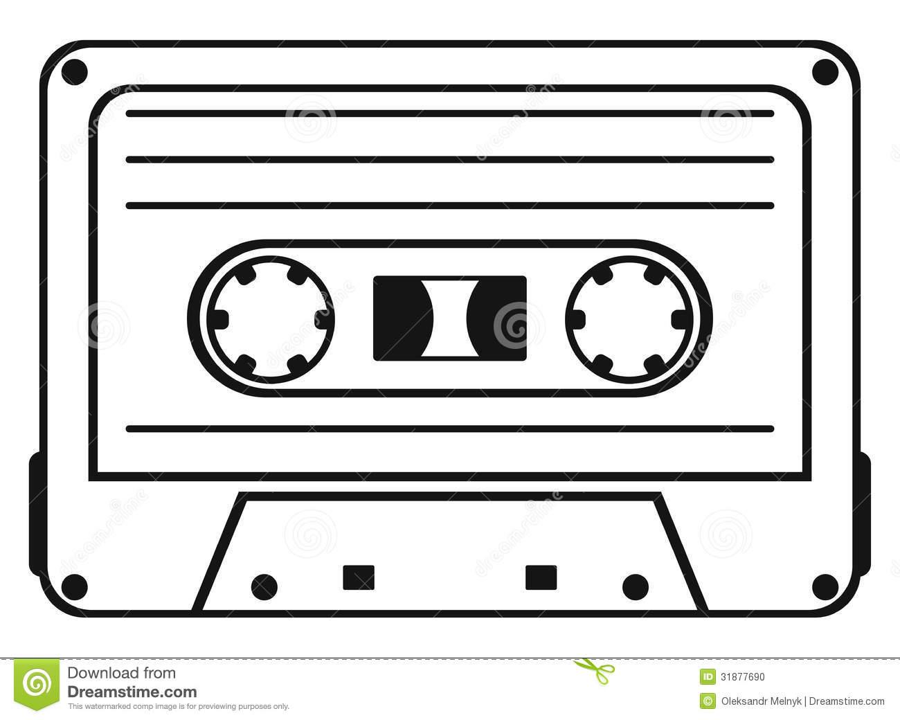Cassette Tape Stock Photo Image 31877690