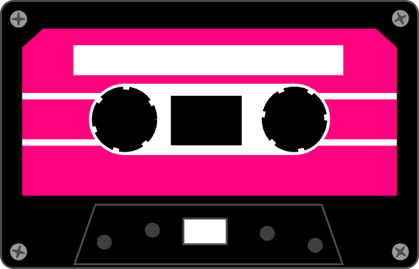 Cassette Tapes Clipart #1 .