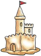 castle clipart - Sandcastle Clipart