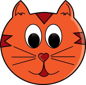 Cat Face Clipart-cat face clipart-3