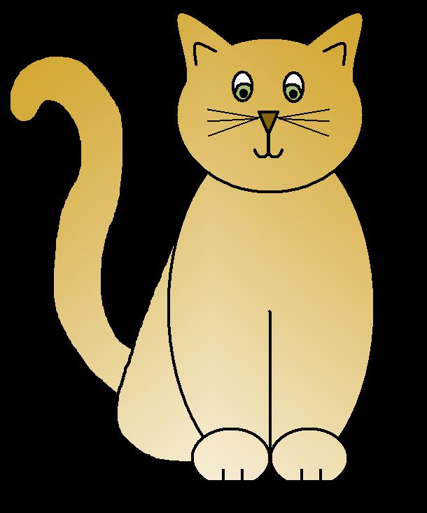 Cat Clip Art Sketches-Cat Clip Art Sketches-16