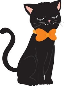 Cat Clipart Halloween. 15.7Kb 223 X 300 -Cat Clipart Halloween. 15.7Kb 223 x 300 Black cat .-3