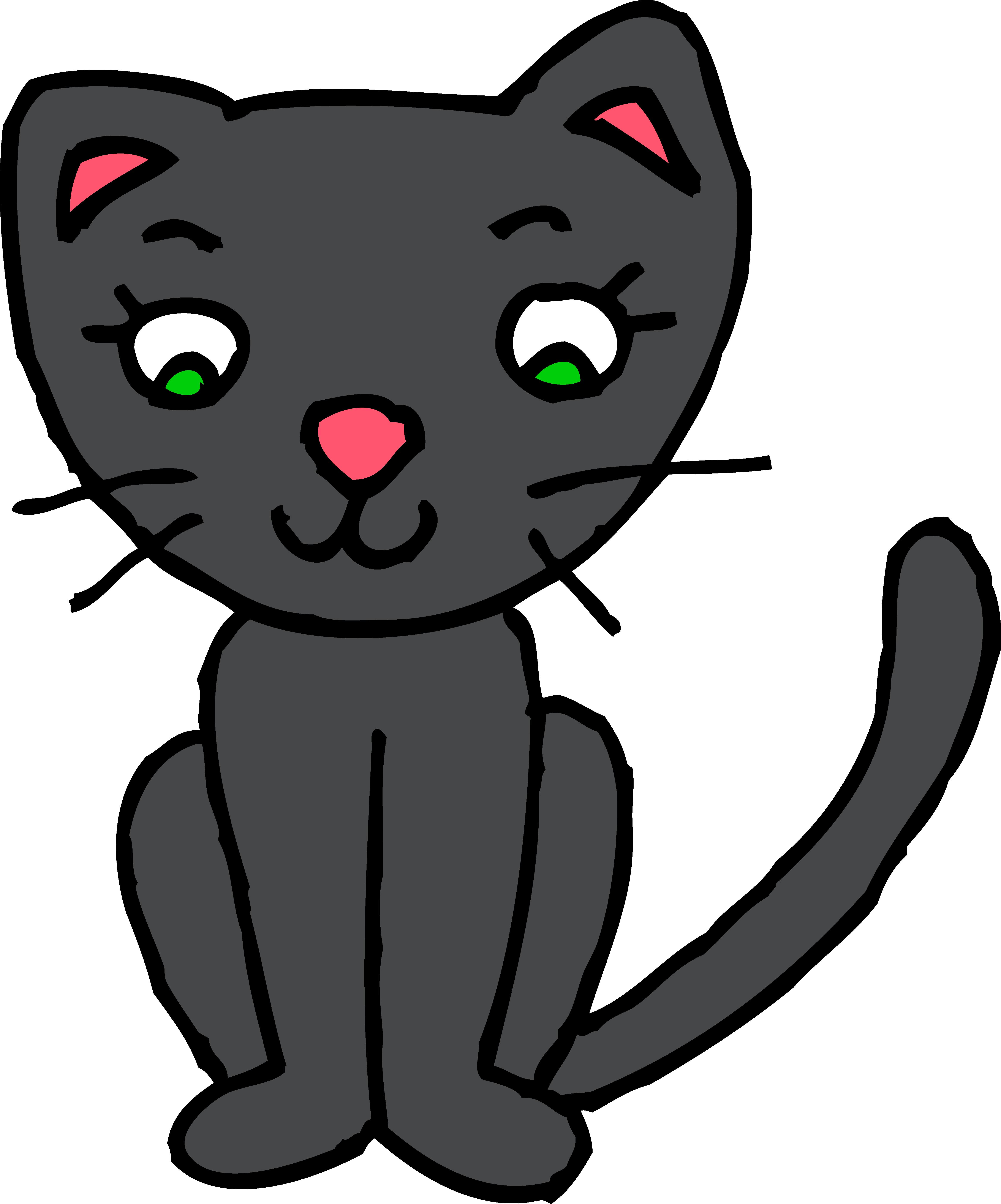 Cat Clipart Image #2461-Cat Clipart Image #2461-4