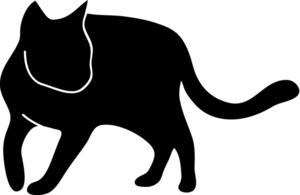 Cat Clipart Image: Cat .