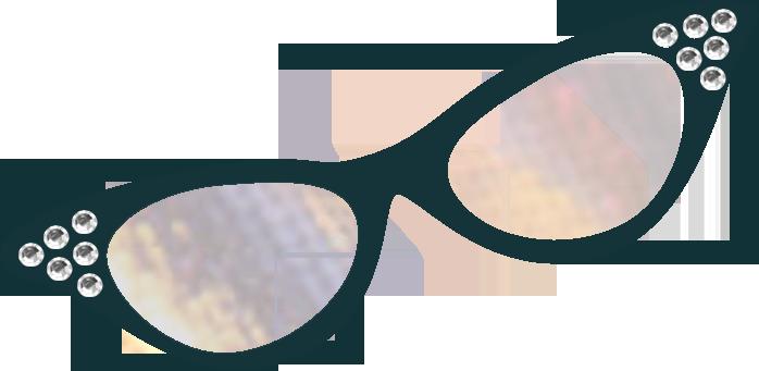 Cat eye glasses clipart-Cat eye glasses clipart-13