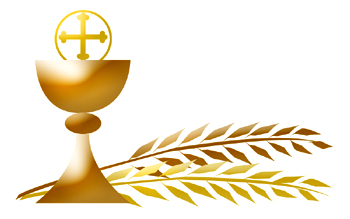 catholic first communion cross clip art