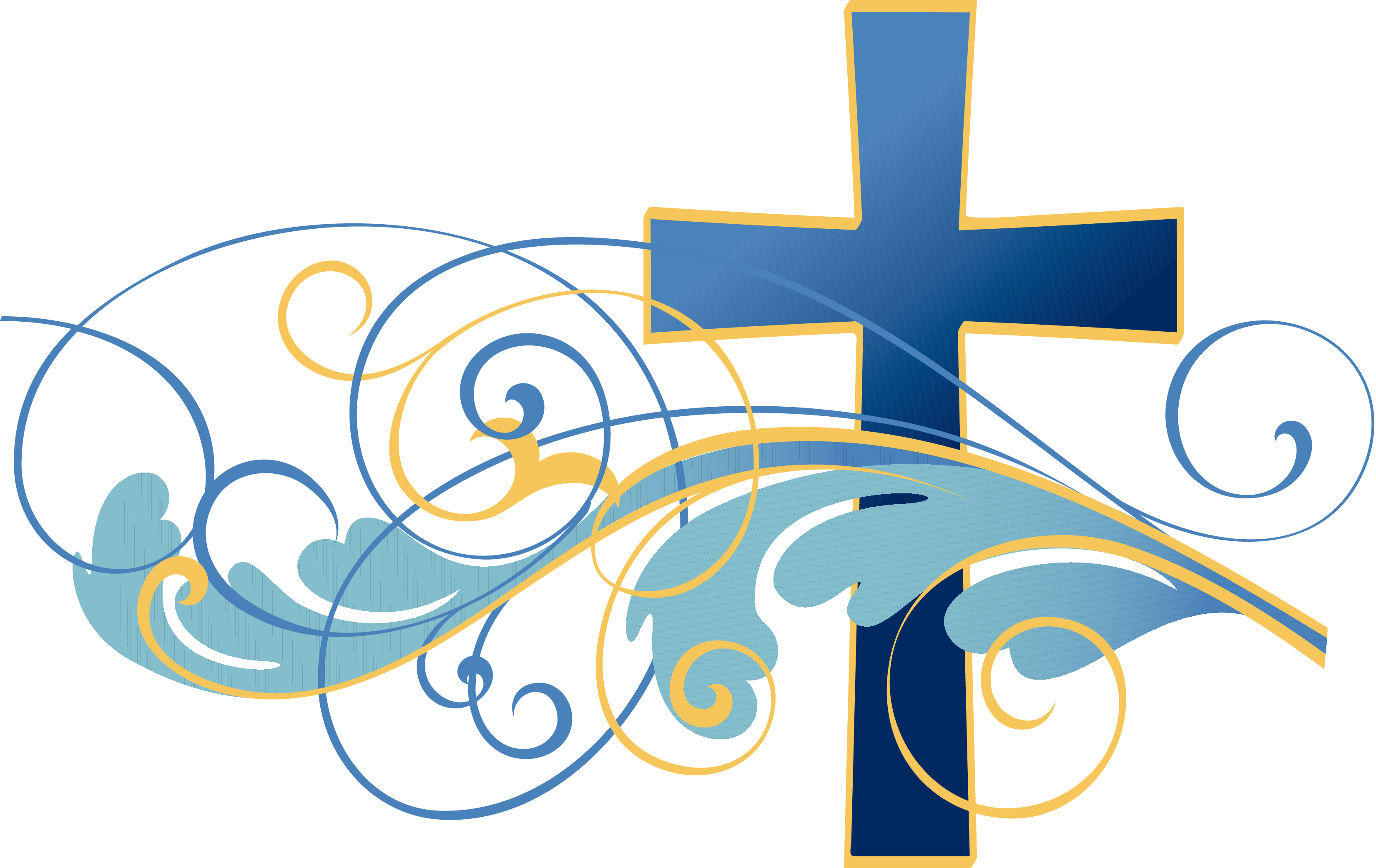 Catholic Baptism Cross Clipart .