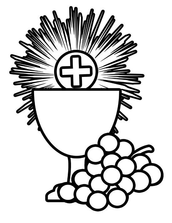 Catholic First Communion Cross Clip Art