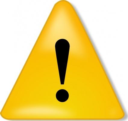 Caution Sign Clipart-caution sign clipart-2
