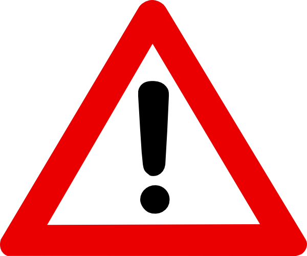 Caution sign caution symbol clip art clipartall 2. Download this image as: