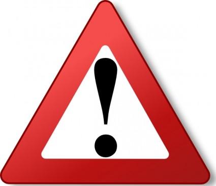Caution sign clip art warning sign clipa-Caution sign clip art warning sign clipartall-4