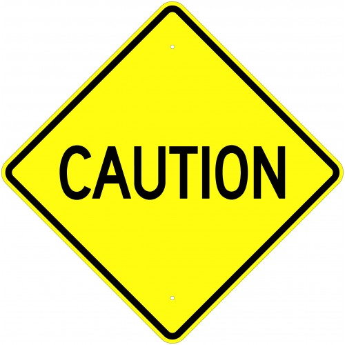 Caution sign clipart 2 - Caution Sign Clipart