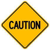 Caution Sign Clipart